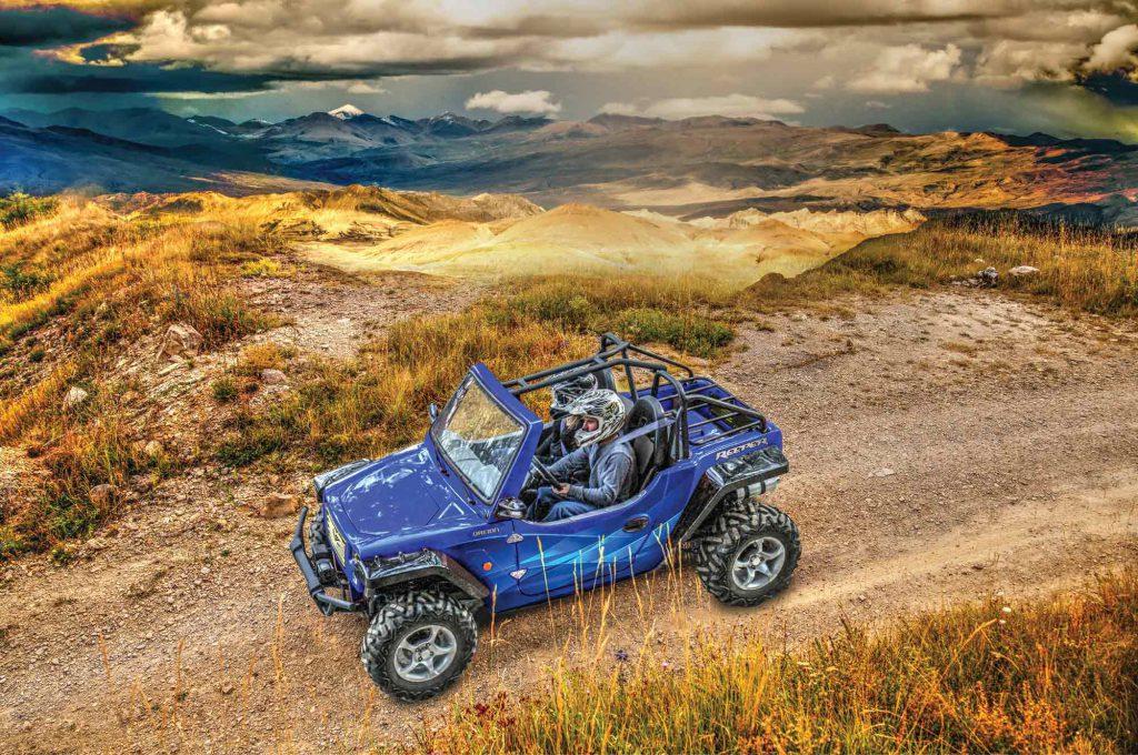 Reeper ATV quad, UTV and Oreion off-road buggy